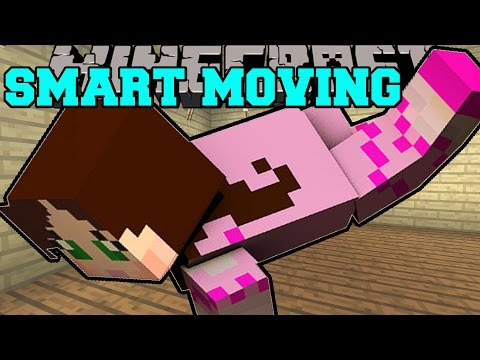 Minecraft: SMART MOVING (CRAWLING. CLIMBING. & GLIDING!) Custom Command