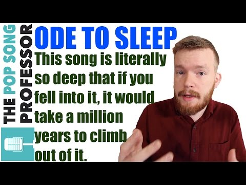 TØP Tuesdays: Going Deep with Ode to Sleep