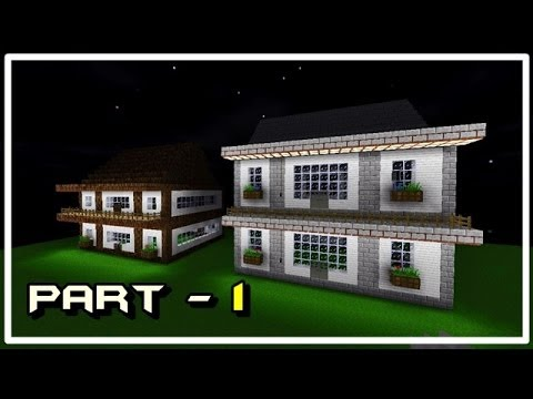 How to make a modern house in survivalcraft part 1 youtube for Modern house 8 part 10