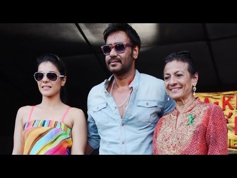 Kajol Doesn't Know How To Cook: Ajay Devgn