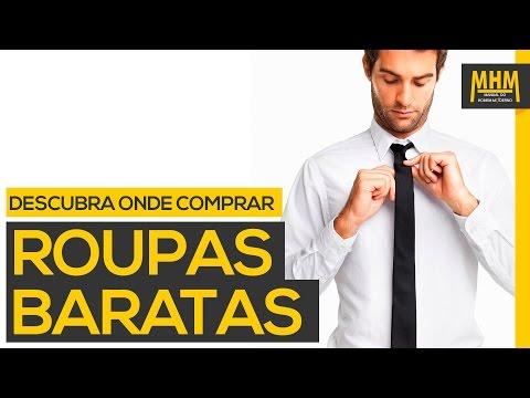 TOP 8 - Onde comprar roupas baratas para homens | Moda Masculina