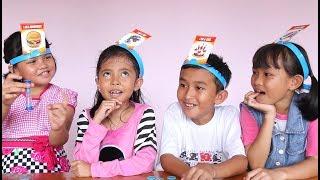 Seruuuu Uboxing Mainan Anak What Am I ? Bermain Tebak Nama - Headbanz Guessing game