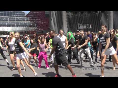 World's Largest Simultaneous Flashmob feat. Alfonso Ribeiro | ViSalus Flash Mob - Hollywood CA