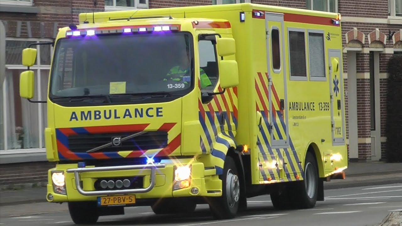 Luchthoorn micu 13 359 met spoed naar alkmaar en retour for Retour amsterdam