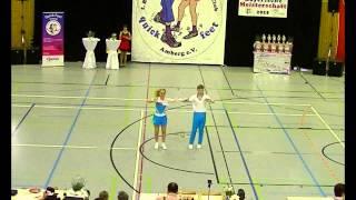 Kristina Schwingenschlögl & Moritz Schmidt - Landesmeisterschaft Bayern 2015
