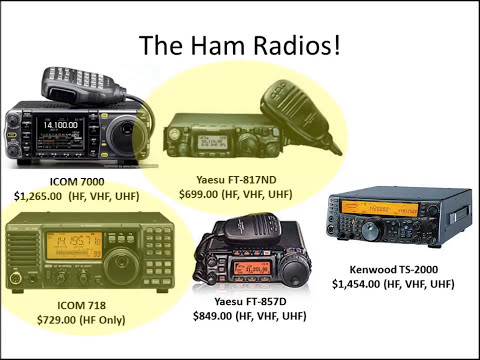So you want a ham radio for emergency communications!