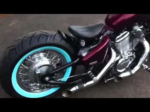 Honda Shadow Bobber For Sale 2004 honda shadow bobber - YouTube