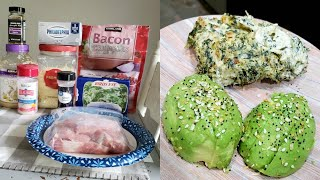SPINACH DIP PORK CHOPS | COOK WITH ME | NICOLE BURGESS