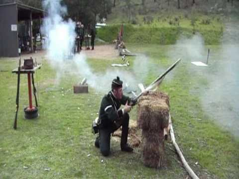 Brown Bess Flintlock Musket Accuracy - updated