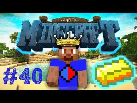 Minecraft SMP: HOW TO MINECRAFT #40 'AUTO GOLD FARM!' with Vikkstar