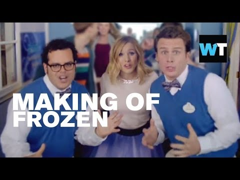 Making of Frozen - Kristen Bell, Josh Gad & Jonathan Groff | What's Trending Now