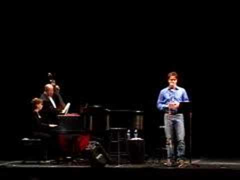 John Barrowman cabaret at Kennedy Center part 7