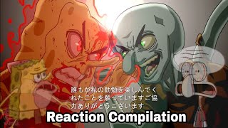 The Spongebob SquarePants - Anime - OP 2 (Animation) - Reaction Compilation