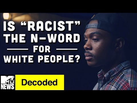 """Is """"Racist"""" the N-Word For White People? 