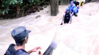 Keganasan Kepala Air ketika menuruni Gunung Angsi