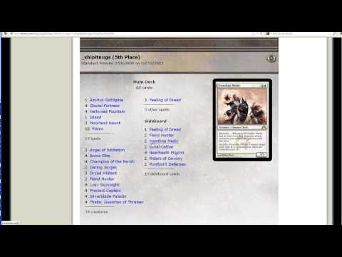 Magic the Gathering - Rogue Deck of the Week - UW Humans