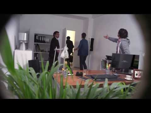 Job Interview Apocalypse HD - LG Ultra Thin TV Commercial