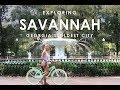 Exploring Historic Savannah, GA