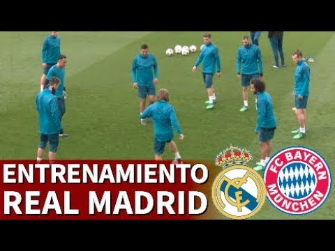 Real Madrid-Bayern | Entrenamiento previo del Real Madrid | Diario AS thumbnail