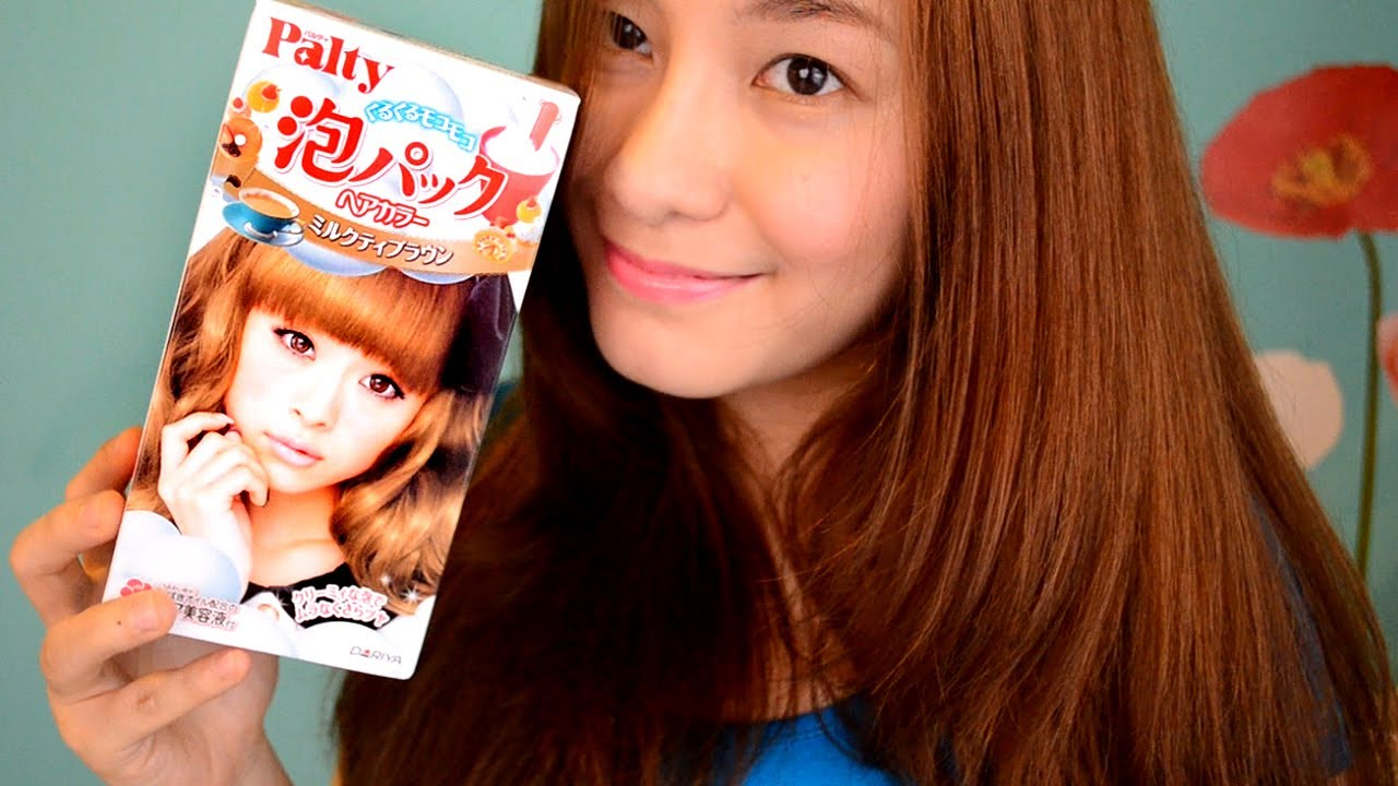 Palty Foam Dye Milktea Brown Review YouTube