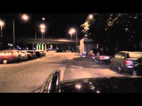 Night drive in Helsinki
