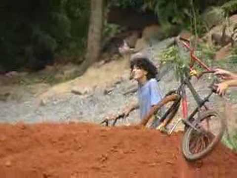 Tombo de Bicicleta em Piratuba - SC