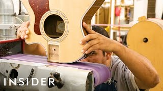 How Taylor Guitars Are Made