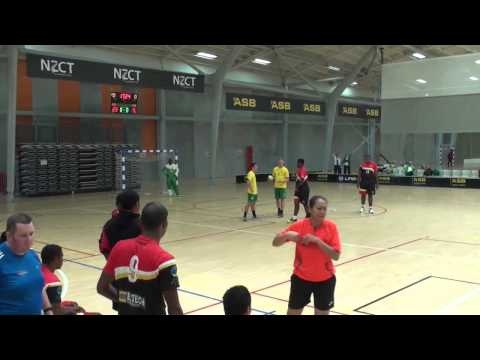 2014 IHF Trophy Oceania - Australia vs Papua New Guinea (Boys)