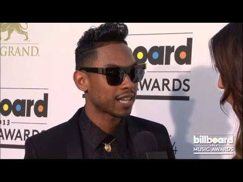 Miguel on the Billboard Music Awards Blue Carpet 2013