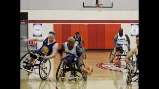 Courtside AF : Kings vs Warriors Wheelchair Basketball