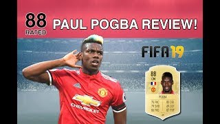 FIFA 19 PAUL POGBA REVIEW - 88 RATED BEAST - ULTIMATE TEAM