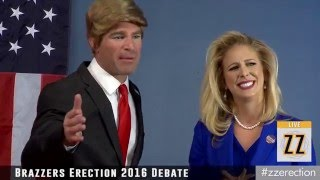 Brazzers Presents: ZZ Erection Part 1 (DONALD TRUMP vs. HILLARY CLINTON PARODY)