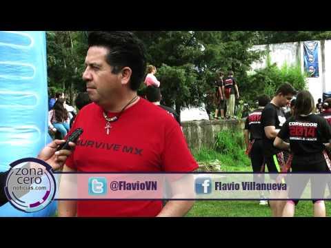 Organiza Flavio Villanueva mega carrera zombie en Atizapán.