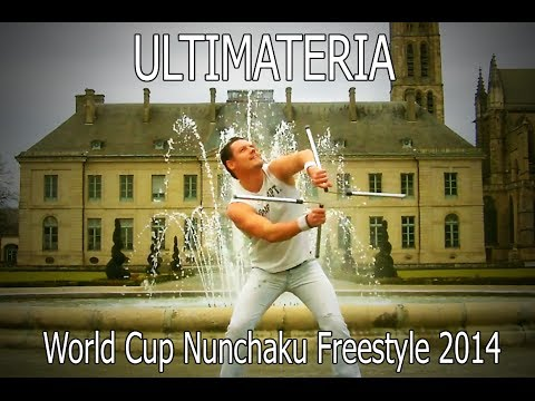 Nunchaku Ultimateria - World Cup freestyle 2014