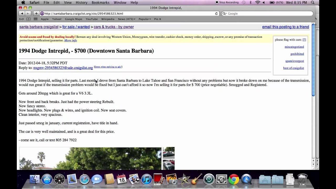 craigslist santa barbara used cars deals under 3000 available youtube. Black Bedroom Furniture Sets. Home Design Ideas