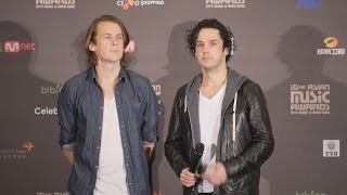 Ylvis Video - Mnet Asian Music Awards 2013 - Ylvis - Press Conference Before Show