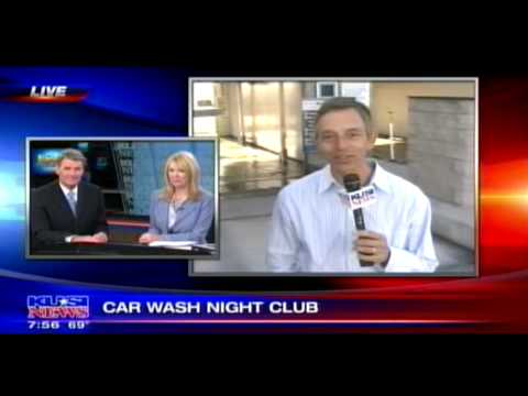Lazer Show Laser Wash on KUSI News San Diego