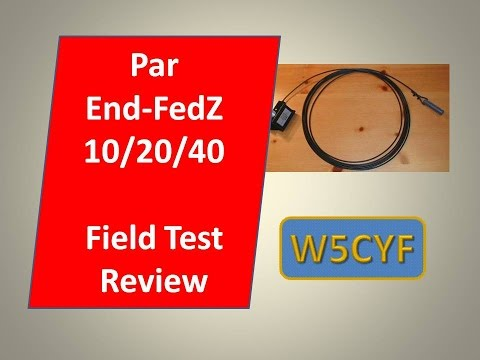 PAR EndFedz 10M/20M/40M Multiband Antenna