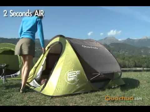 Barraca 2 Seconds Air ii Quechua Tent 2 Seconds Air Pop
