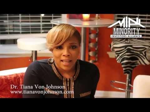 Tiana Von Johnson starts the Minority Investors Alliance (MIA) partnered with Strongbrook!