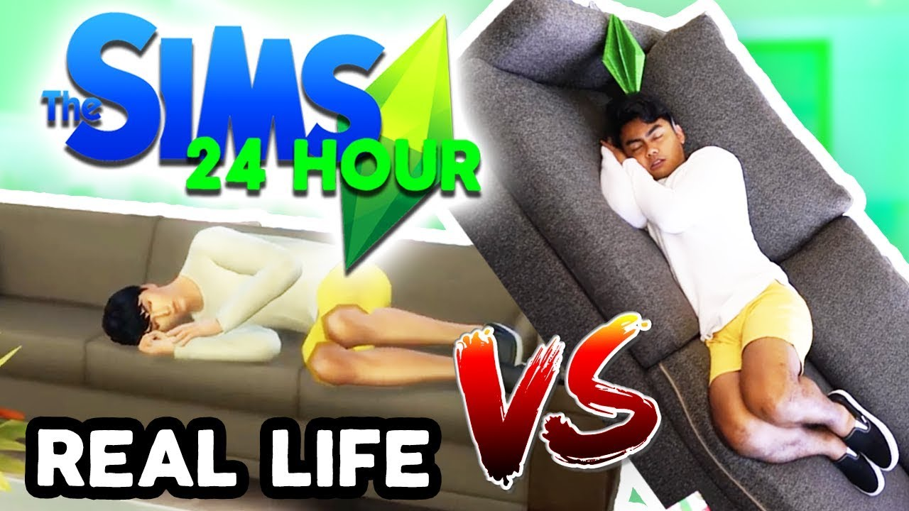LIVING AS MY SIM FOR 24 HOURS CHALLENGE PART 2!