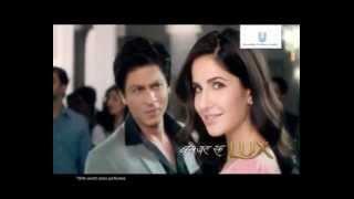 Shah Rukh Khan & Katrina Kaif ~ Zara Sa LUX  - YouTube.flv