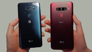 LG V30 vs LG V40 Speed Test, Cameras & Speakers!