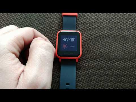 Xiaomi huami Amazfit Bip small review
