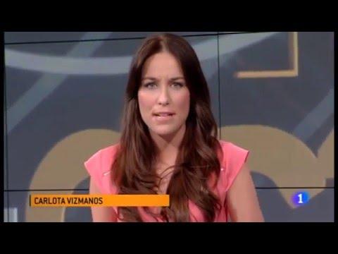 Carlota Vizmanos en Estadio1 de TVE