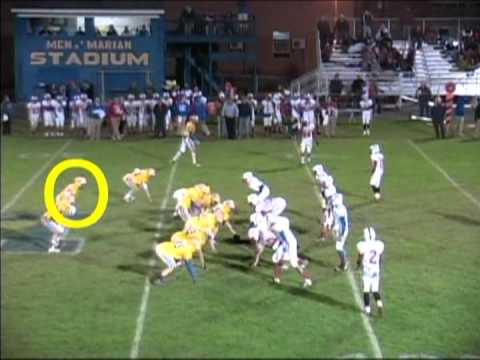 Dylan Quirk 2011 Junior Year Football Highlights Marian Catholic High School.mpg