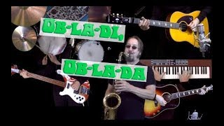 Ob La Di Ob La Da Instrumental Guitar Bass Drums Sax Piano And Auxiliary