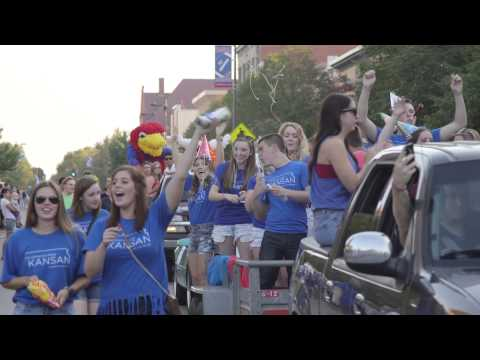 University of Kansas Homecoming Parade 2014