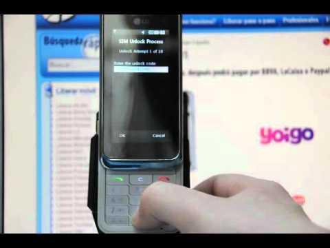 Liberar LG KF701. desbloquear LG KF700 Orange o de Yoigo  - Movical.Net