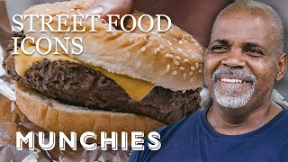 $2 Burgers in Harlem - Street Food Icons